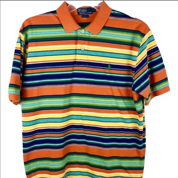 08f862cdd0 Polo by Ralph Lauren Shirts | Polo Ralph Lauren Rainbow Striped Polo ...
